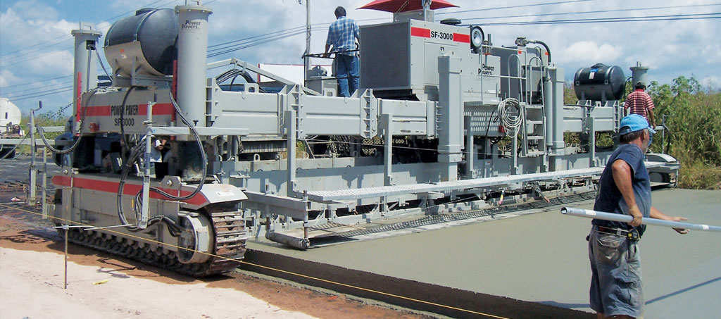 Power Pavers SF-3000 Coffrage glissant plateforme